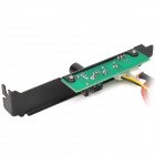 PCI 3-Channel Chassis Fan Speed Controller / Regulator