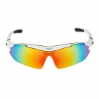OREKA 930 Sporty UV400 Goggles + Replacement Lenses for Cycling & Outdoor Exercises - White