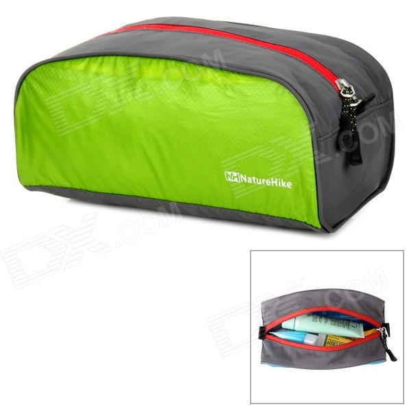 все цены на NatureHike Ultra Lightweight Nylon Travel Toiletry Bag - Gray + Green (L) онлайн