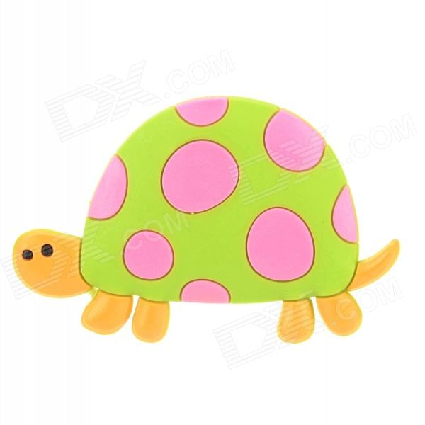Creative Tortoise Style Refrigerator Magnetic Sticker - Green + Deep Pink + Orange