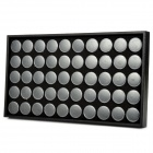 Multifunction Nail Art Accessories Packaging Round Box Display Storage Box - Black + Transparent