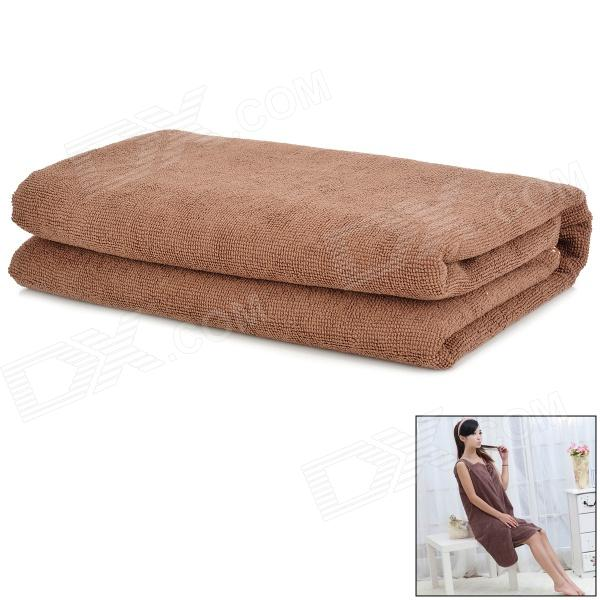 MY155*85 Fashiobale Wearable Microfiber Bath Towel - Coffee от DX.com INT