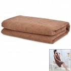 MY155*85 Fashiobale Wearable Microfiber Bath Towel - Coffee