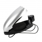 Multifunctional Sun Shield Mounted Glasses Clip for Car - Silver + Black