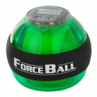 Forceball SPT-AL Plastic Wrist / Fingers / Arm Training Force Ball w/ LED Light - Green + Black