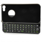 Portable Bluetooth v3.0 49-Key Keyboard w/ Back Case for Iphone 5 - Black