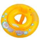 11030037W Inflatable PVC Baby Swimming Trainer Alar Ring - Yellow