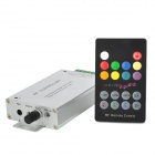 288W RGB LED Light RF Music Controller w/ Remote Controller - Multicolored (DC 12~24V)