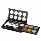 Rulix 8683 Helle 8-in-1 Make-up Eye Shadow - Bunt