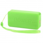 XY-3600 Perfume Scented Universal 3600mAh Rechargeable Li-ion Power Bank - Green