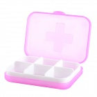 G-663 Portable PP Medicine / PP / Capsule Storage Management Box - Deep Pink