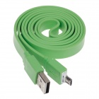 Micro USB Male to USB Male Data / Charging Cable for Samsung Galaxy Note / S3 i9300 - Green (106cm)