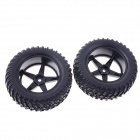 90 milímetros PneusConjunto for 1/10 RC On-Road Car -Preto (2PCS)