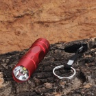 GL-037-45 3W 30lm LED White 1-Mode Flashlight - Red (1 x AA)