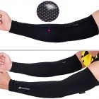 NUCKILY E274 Sports Oversleeves - Black (Size-L / Pair)