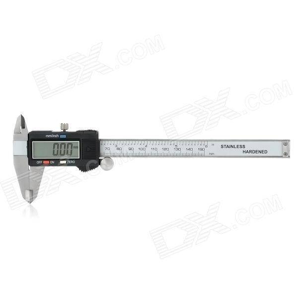 Digital 150mm Caliper dental caliper thickness gauge 0 10 0 1mm caliper with metal watch measuring thickness dental lab equipments dentist tools