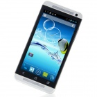 "One M7 MTK6589 Quad-Core Android 4.2.1 WCDMA Bar Phone w/ 4.7"", FM, Wi-Fi and GPS - Black + Silver"