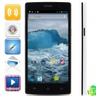 Neken N6 Quad-Core Android 4.2.1 WCDMA Bar Phone w/ 5.0' OGS, Wi-Fi, 16GB ROM, GPS - Black + White