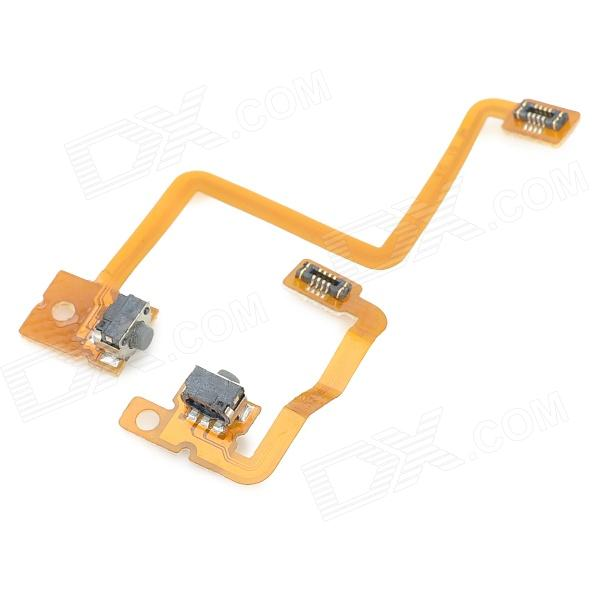 Replacement L + R Micro Switch Ribbon Cable Module for Nintendo 3DS -  Yellow