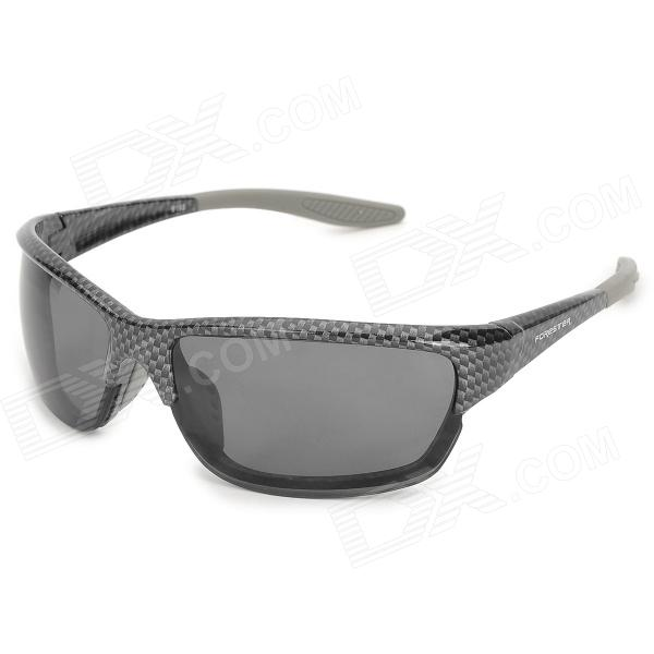 FORESTER 9193 Outdoor Bicycle Men's UV400 Protection Sunglasses - Black