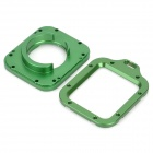 Aluminum Alloy Dual Lens Adapter Rings for GoPro HD Hero 3 - Deep Green