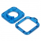 PANNOVO Aluminum Alloy Dual Lens Adapter Rings for GoPro HD Hero 3 - Blue