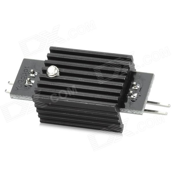 AMS1117 5.0V Linear Voltage Regulator w/ Heat Sink - Black + Silver fast free ship 10pcs 3dd heatsink gold seal transistor radiator 15d heat sink 45 36 25mm cooling fin