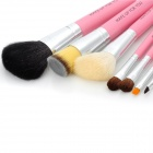 MAKE-UP FOR YOU Professional 7-in-1 Cosmetic Makeup Brushes Set w / Case - Pink