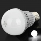 H!WIN Firi-HBL07 E27 7W 630lm 6500K 14-SMD 5730 LED White Light Bulb - Silver