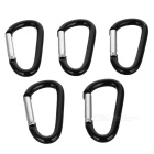 Just-works Metal Hiking Clip Large-sized (5-Pack)