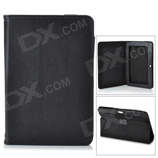 Protective Lichee Pattern PU Leather Case for 7