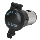 12V 120W Motorcycle / Car Power Socket Outlet