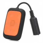 T-06 Swimming Waterproof Rechargeable MP3 Player - Black + Orange (8GB)