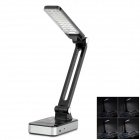 YAGE YG-3986 1.82W 100lm 7000K 30-LED Cool White Rechargeable Table Light - Black
