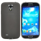 Protective TPU Back Case for Samsung Galaxy S4 / i9500 - Transparent Black