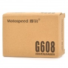 Motospeed G608 2.4G Wireless 1000~1500dpi Optical Mouse - Black (2 x AAA)