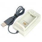 USB Battery Charging Station for Xbox 360 Controller - White