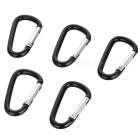Just-works Metal Hiking Clip Medium-sized (5-Pack)