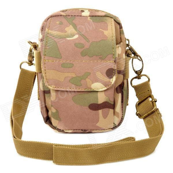 600D Oxford Nylon Outdoor Shoulder Bag - CP Camouflage