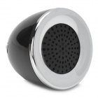 Fashionable Mini Mushroom Style 3.5mm Jack Speaker for Iphone 5 / 4S / Ipad 4 - Black