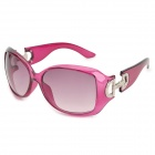 Fashionable Women's UV400 Protection Sunglasses - Medium Violet Red