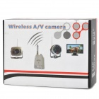 "SC100B 1.2GHz Wireless Radio AV Receiver + 1/3"" CMOS Night Vision Surveillance Camera - Black"