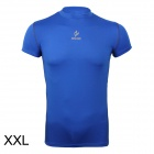 ARSUXEO AR6002S Men's Sports Quick-drying Polyamide + Lycra Skin-tight T-shirt - Blue (Size-XXL)