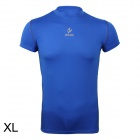 ARSUXEO AR6002S Men's Sports Quick-drying Polyamide + Lycra Skin-tight T-shirt - Blue (Size-XL)