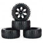 1:10 Scale Replacement Truck Rubber Tyre Tire (4 PCS)