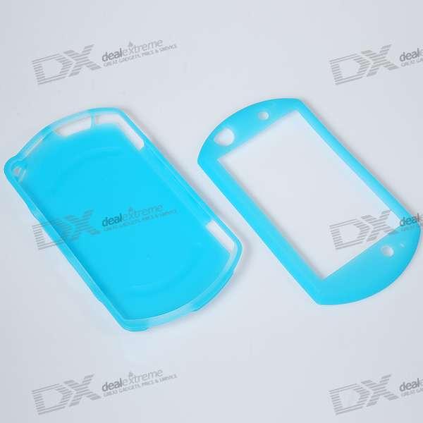 Protective Silicone Case for PSP Go (Blue)