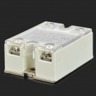 SSR-10VA Solid State Relay - blanc + argent