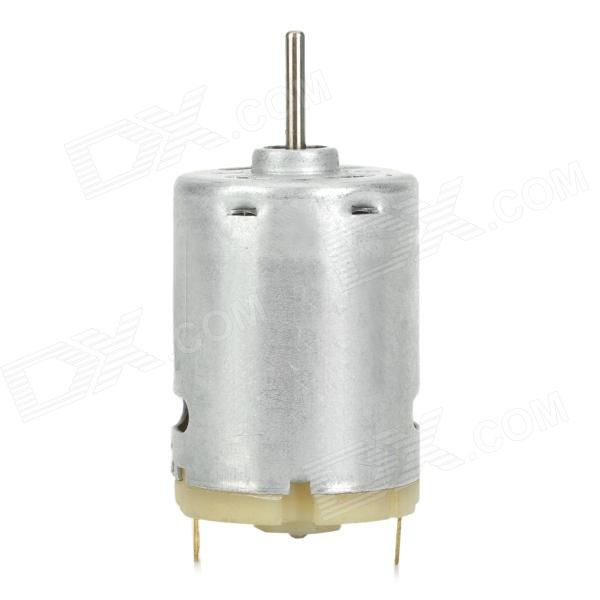 minR380 DC Motor for Vacuum Cleaner / Hair Dryer / Boat Model - Silver (DC 6~24V) fast shipping dc motor for treadmill model a17280m046 p n 243340 pn f 215392