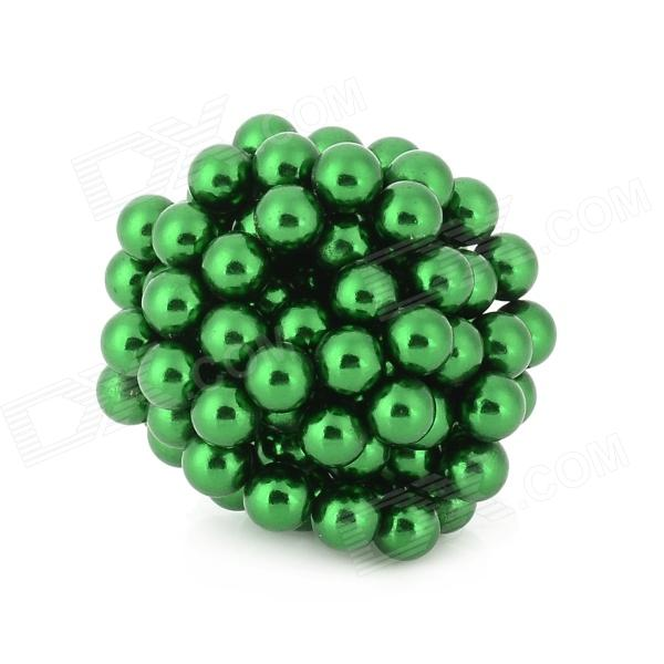 Ensemble de billes DIY 5mm-Diameter Magnet - vert (125pcs)