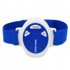 Electronic Wristband Style Pulse Snore Stopper - Blue + White (1 x CR2032)